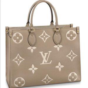Louis Vuitton Onthego MM Exclusive Empreinte Tote